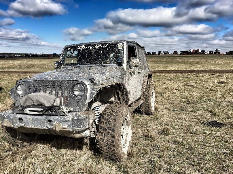 Dirty Girl Jeep