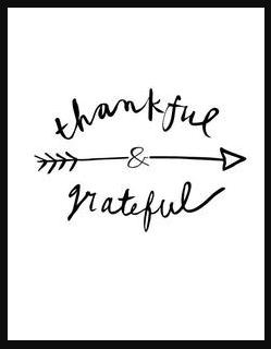 Thankful/Grateful
