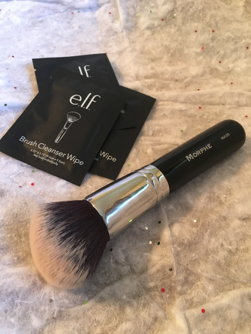 Brush Cleaner Wipe & Foundation Brush