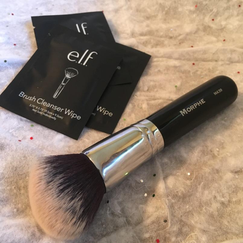 Brush Cleaner Wipe & Foundation Brush