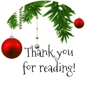 Blogmas2 Thanks for Reading